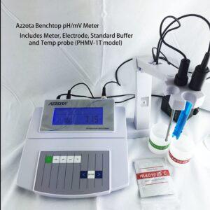 Medidor de ph/mv con temperatura azzota