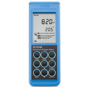 medidor de oxigeno disuelto Hanna Instruments