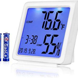 Medidor de temperatura y humedad Ae Life