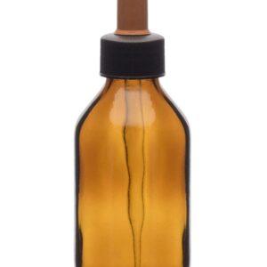 Botella con tapón de rosca y equipado con gotero Eisco