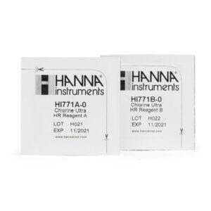 Reactivos para Checkers de ultra cloro Hanna Instruments